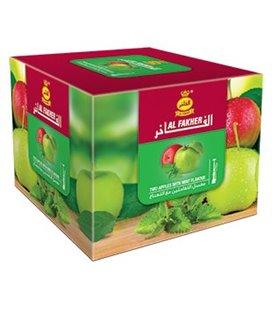 """Табак для кальяна Al Fakher """"Два яблока и мята"""", 250 г"""
