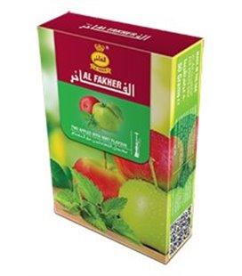 """Табак для кальяна Al Fakher """"Два яблока и мята"""", 50 г"""