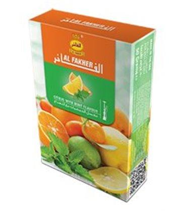 "Табак для кальяна Al Fakher ""Цитрусы и мята"", 50 г"
