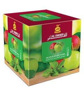 """Табак для кальяна Al Fakher """"Два яблока и мята"""", 1 кг"""
