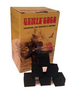 Уголь кокосовый Genie Coco 1кг (84 шт), кубик