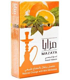 """Табак Mazaya """"Апельсин с мятой"""", 50 г"""