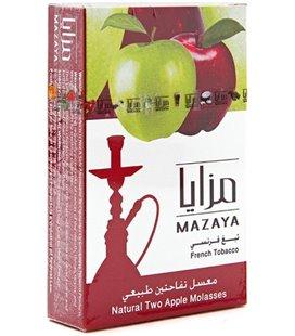 """Табак Mazaya """"Двойное яблоко"""", 50 г"""