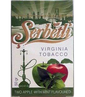 """Табак Serbetli """"Двойное яблоко с мятой"""", 50 г"""
