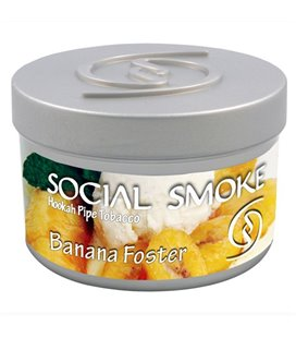 "Табак Social Smoke ""Банан с ванильным мороженным"", 100 г"