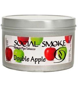 """Табак Social Smoke """"Двойное Яблоко"""", 100 г"""