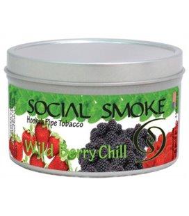 """Табак Social Smoke """"Ледяные дикие Ягоды"""", 100 г"""
